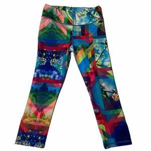 Live Love Dream Activewear Capri Leggings